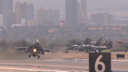 F-16 fighting falcon at Red Flag Footage
