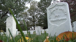 Footage of Arlington National Cemetery Footage