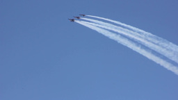 Blue Angels Perform During SFFW14 Air Show Footage