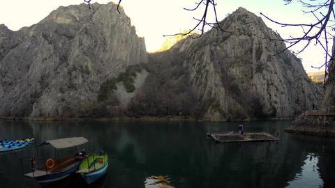 Lake Timelapse Filmmaterial