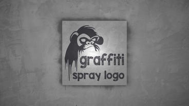 Graffiti Spray logo Apple Motion Project