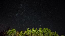 Night lapse. Starry night Footage