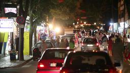 Night Street Scene 1 Footage