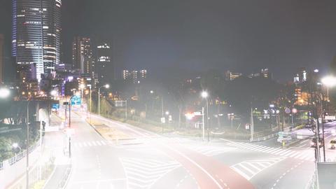 Nostalgic cityscape and blur light Footage