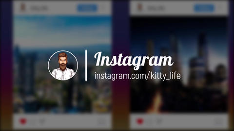 Instagram promo 4K After Effectsテンプレート