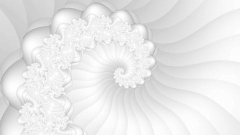 Fractal spiral seamless loop motion background Animation