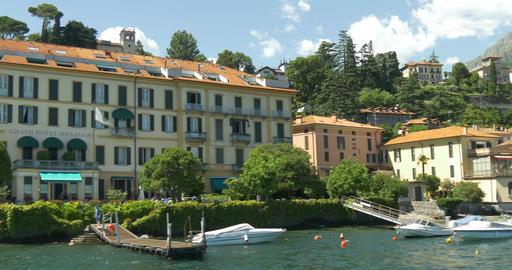 Lake Como Menaggio Footage