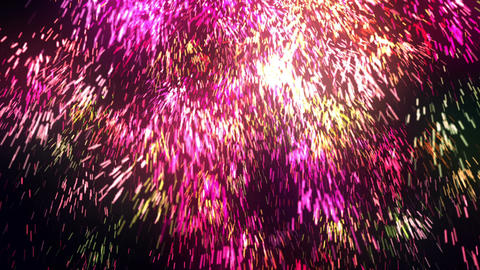 Abstract Massive Particles Animation