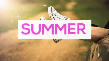 Summer Slides After Effects Project