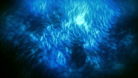 Fiery Fogg Particles Blue Animation