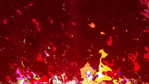 SHA AnimeFire BG Image Red Animation