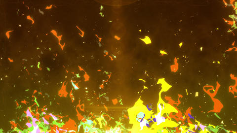 SHA AnimeFire BG Image Yellow Animation