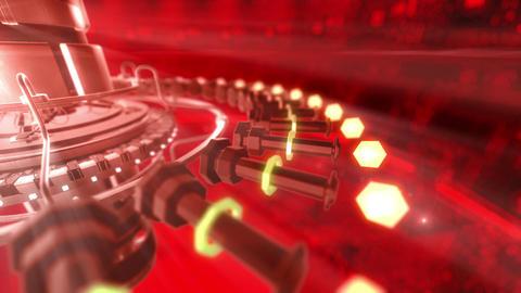 SHA Digital Tech BGimage Red Animation
