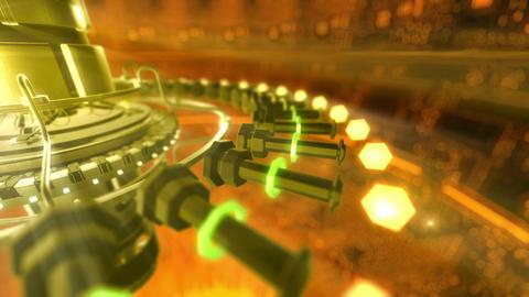 SHA Digital Tech BGimage Yellow Animation