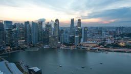 Business city Singapore Image