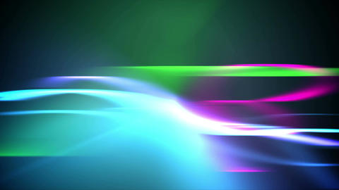 Abstract Colorful Blurred Streaks. Loopable Animation