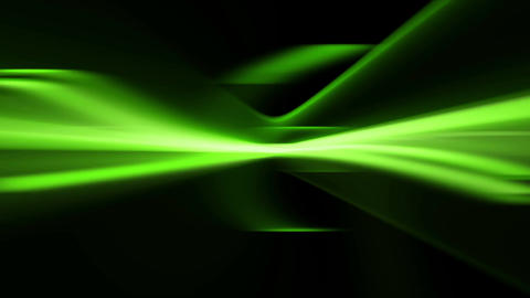 Abstract Green Blurred Streaks. Loopable Animation