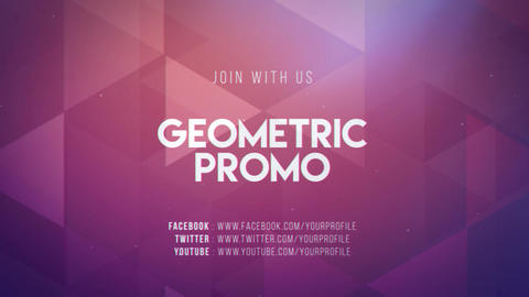 Geometric Promo After Effects Template