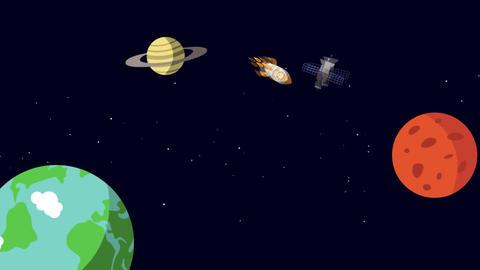 Cosmos cortoon Animation