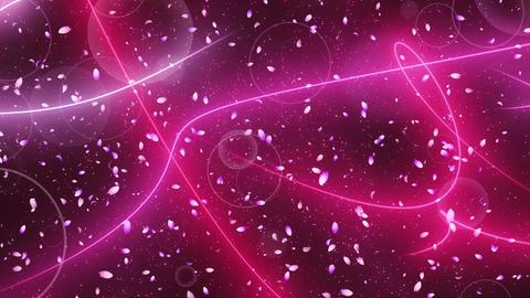 Confetti circle horizontal sakura origin noflare Animation