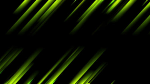 Abstract green glowing stripes video animation Animation