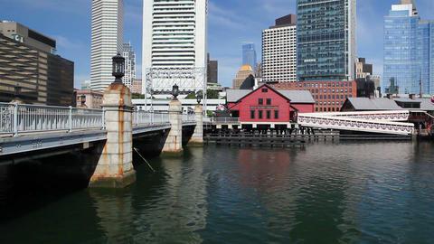 Boston Tea Party Museum Stock Video Footage