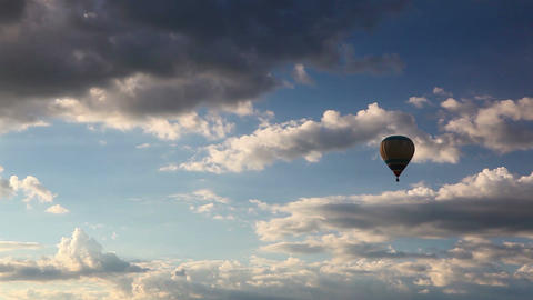 Hot air balloon Footage