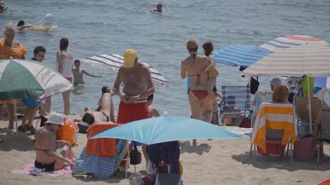 Beach Moody Waters Footage