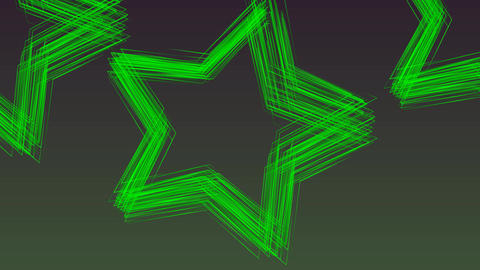 Green Star Animation