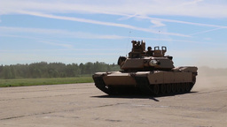 M1A2 Abrams operations Footage