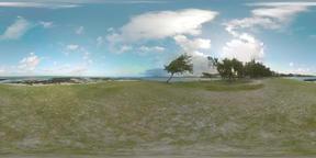360 VR Landscape of green Mauritius Island Archivo