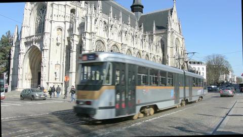 Notre-Dame du Sablon church Footage