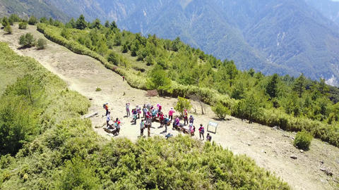 DJI MAVIC 4K Taiwan Nantou Aerial Drone Video Yushan National Park Linjhih Mount
