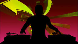 Dj silouette 2 hd Animation