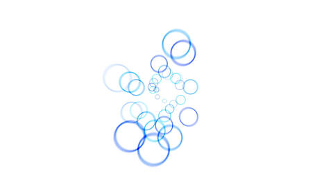 4k Abstract circle light rhythm particles fireworks,bubbles blisters ball dots Live Action