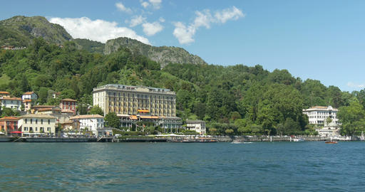 Lake Como Tremezzo Filmmaterial