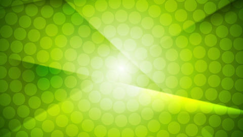 Green shiny abstract video animation Animation