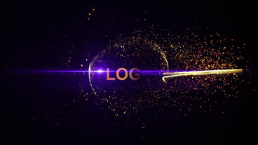 Fire Particle Logo After Effects Projekt