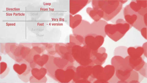 Heart Confetti Pack After Effects Template