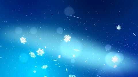 Christmas Snow Part 2 After Effects Template