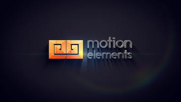 Logo 3D black After Effects Templates