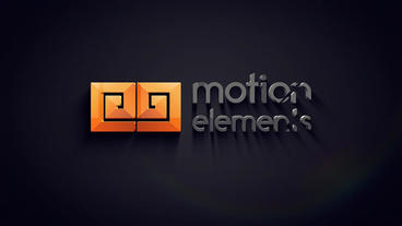 Logo 3D dark After Effects Project