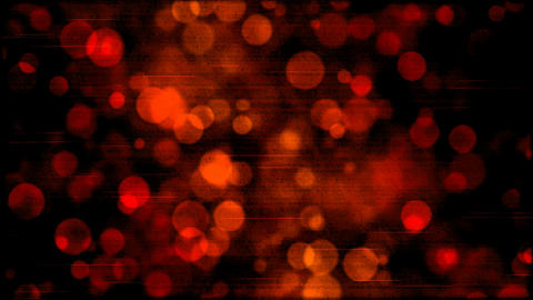 Abstract Particle Background Animation - Loop Red Animation