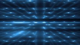 Blue Flood Lights Disco Music Background Animation