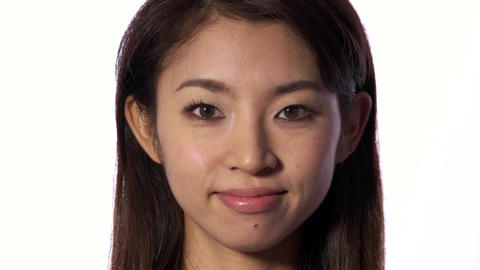 Good News Joy And Happiness For Happy Young Asian Woman Live Action