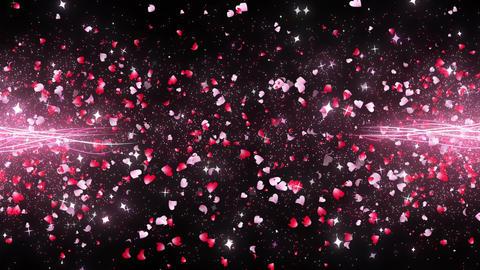 Through particle bothside heartleaf origin noflare Animation