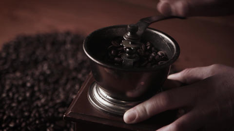 Old coffee grinder Footage
