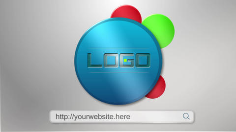 Website promo, Logo reveal After Effects template After Effects Template