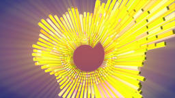 Audio Spectrum Multicolor Animation Footage