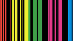 Colorful dynamic lines Animation